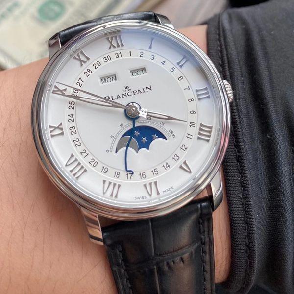 【视频评测OM厂V3版本6654】宝珀经典月相6654-1127-55B 1比1复刻手表