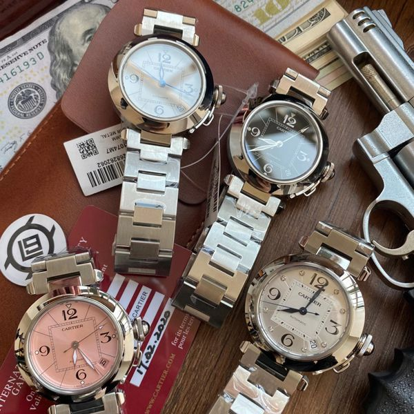 【高品质的复刻手表】V9厂卡地亚帕莎女表W31074M7,W31075M7,WSPA0013腕表