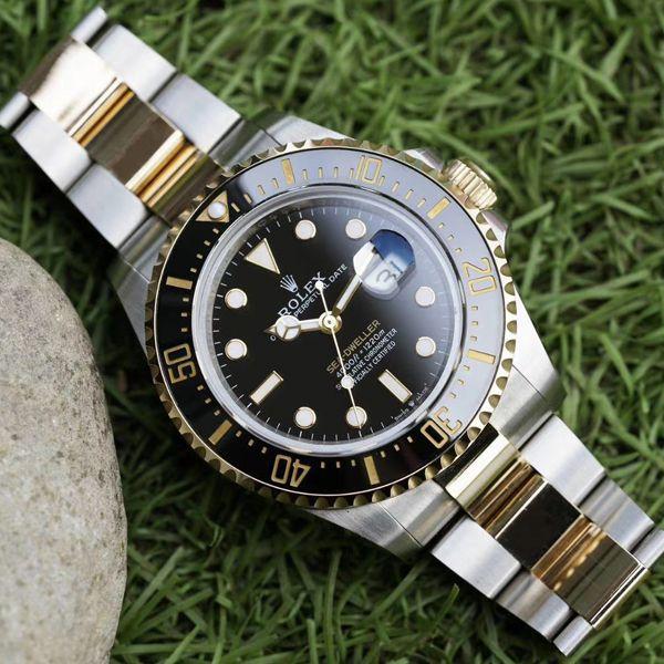 GMF包金单黄劳力士海使型系列m126603-0001腕表