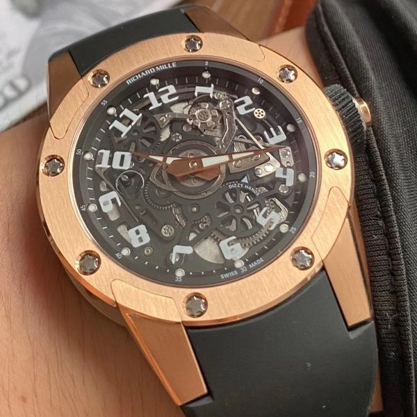 V9理查德米勒Richard Mille RM 63-01一比一顶级精仿手表 Dizzy Hands男装自动机械腕表