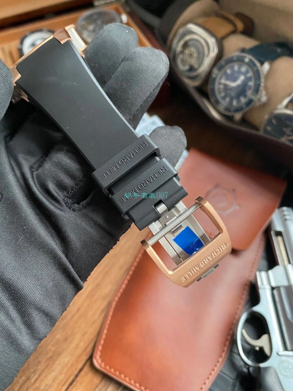 V9理查德米勒Richard Mille RM 63-01一比一顶级精仿手表 Dizzy Hands男装自动机械腕表 / RM 63-01V9
