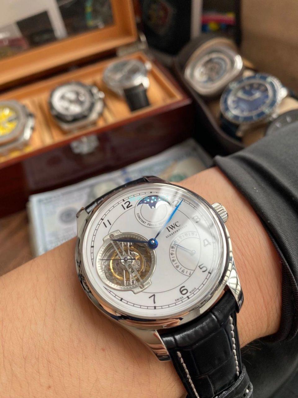 BBR厂万国一比一顶级高仿陀飞轮手表IW590110腕表 / WG601