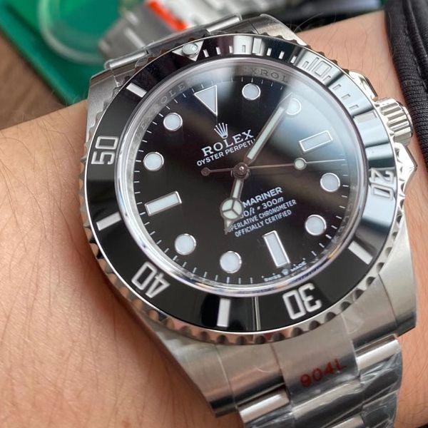 【视频评测】EW厂劳力士新款41无历水鬼超A顶级复刻手表m124060-0001腕表