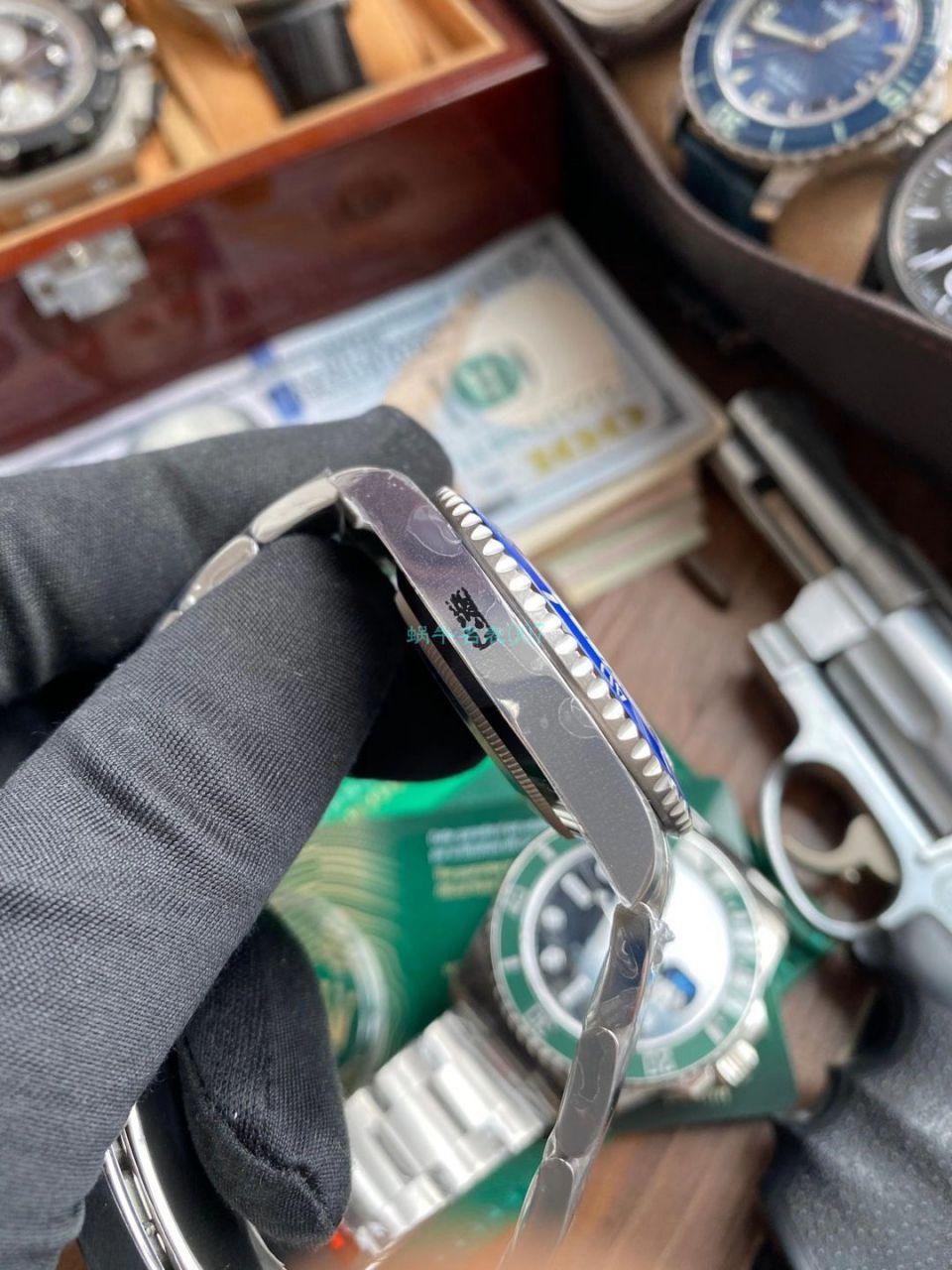 【视频评测】EW厂劳力士41毫米蓝水鬼一比一复刻手表m126619lb-0003腕表 / R688