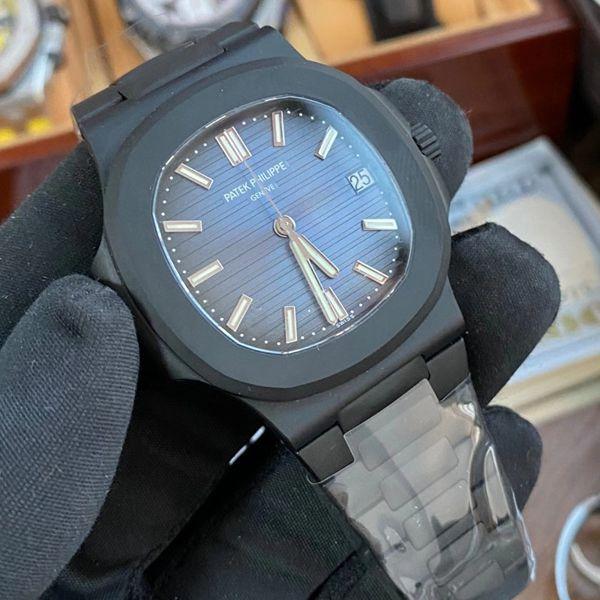 PPF厂V4 DCL版(金刚石碳涂层表壳)百达翡丽鹦鹉螺1比1超级复刻手表5711/1A-010