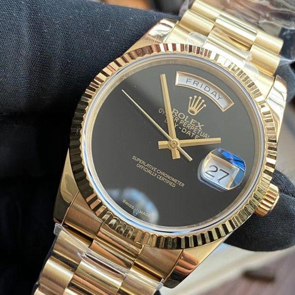 劳力士特别版极简星期日历型day-date腕表