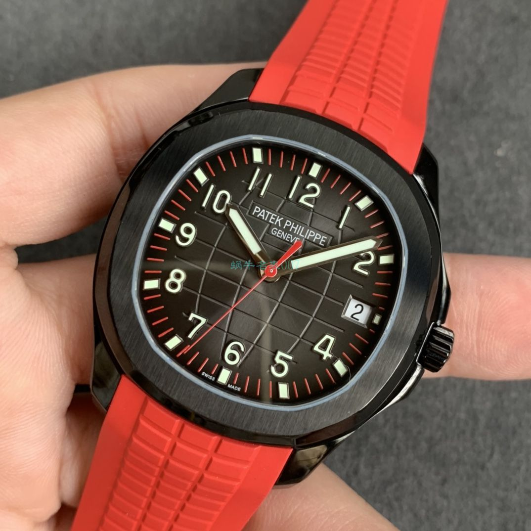 ZF厂新品百达翡丽PP5167 黑毒液手雷改装手表 / BD362