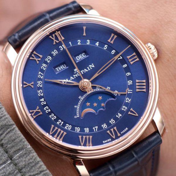 【视频评测】OM厂宝珀6654超A高仿手表6654-3640-55最新V3升级版腕表