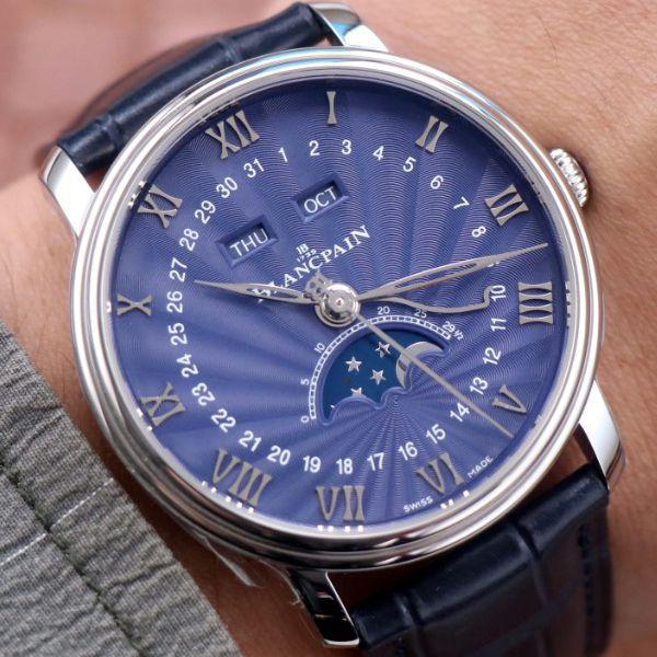 OM厂宝珀6654升级V3版1比1顶级精仿手表6654-1529-55B腕表