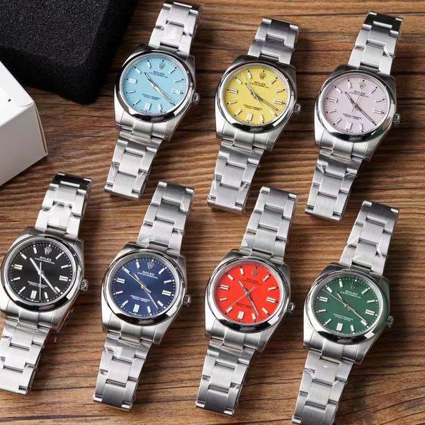 KRF厂超A高仿手表劳力士36毫米蚝式恒动m126000-0006和m126000-0007和m126000-0004腕表