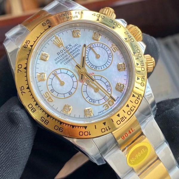 最强间金劳力士迪通拿N厂4130迪通拿定制版m116503-0007腕表