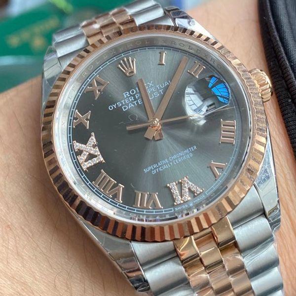 EW厂劳力士日志型36毫米一比一顶级精仿手表m126231-0023腕表