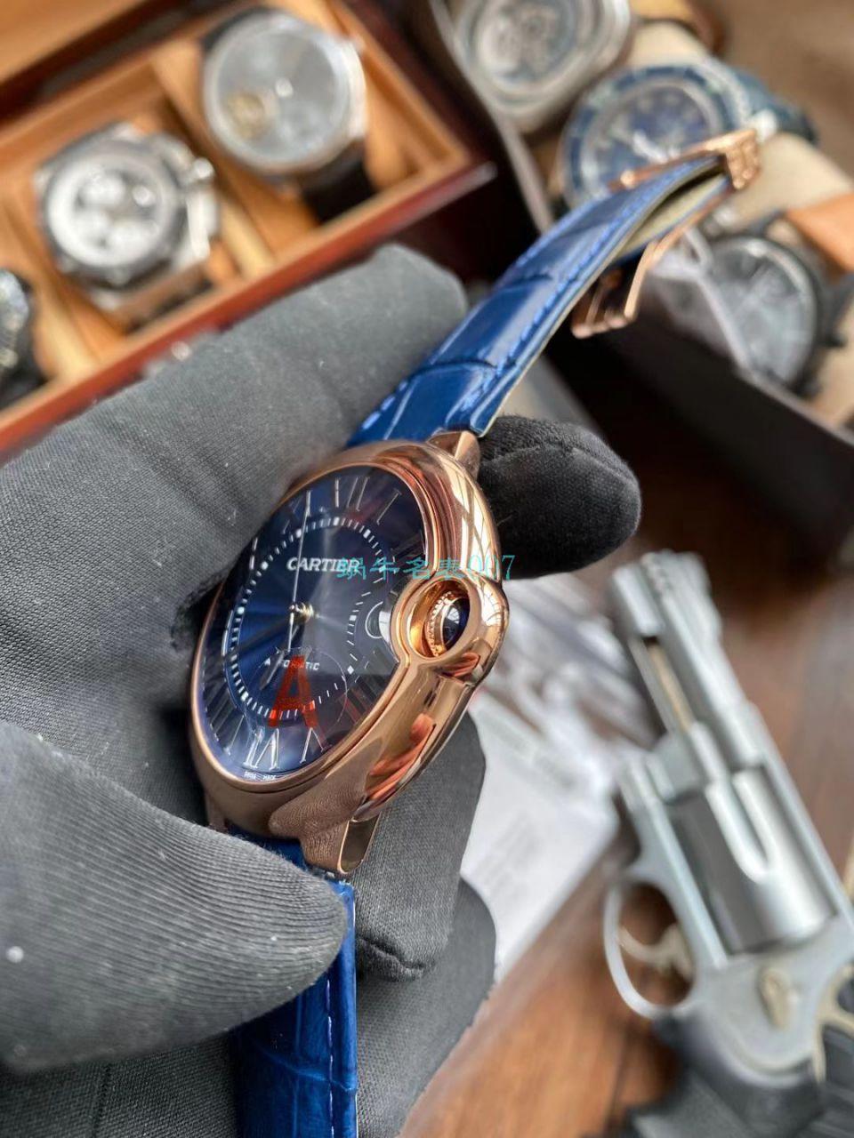 V6厂V8版本卡地亚蓝气球男装一比一超A高仿手表WGBB0036腕表 / K323