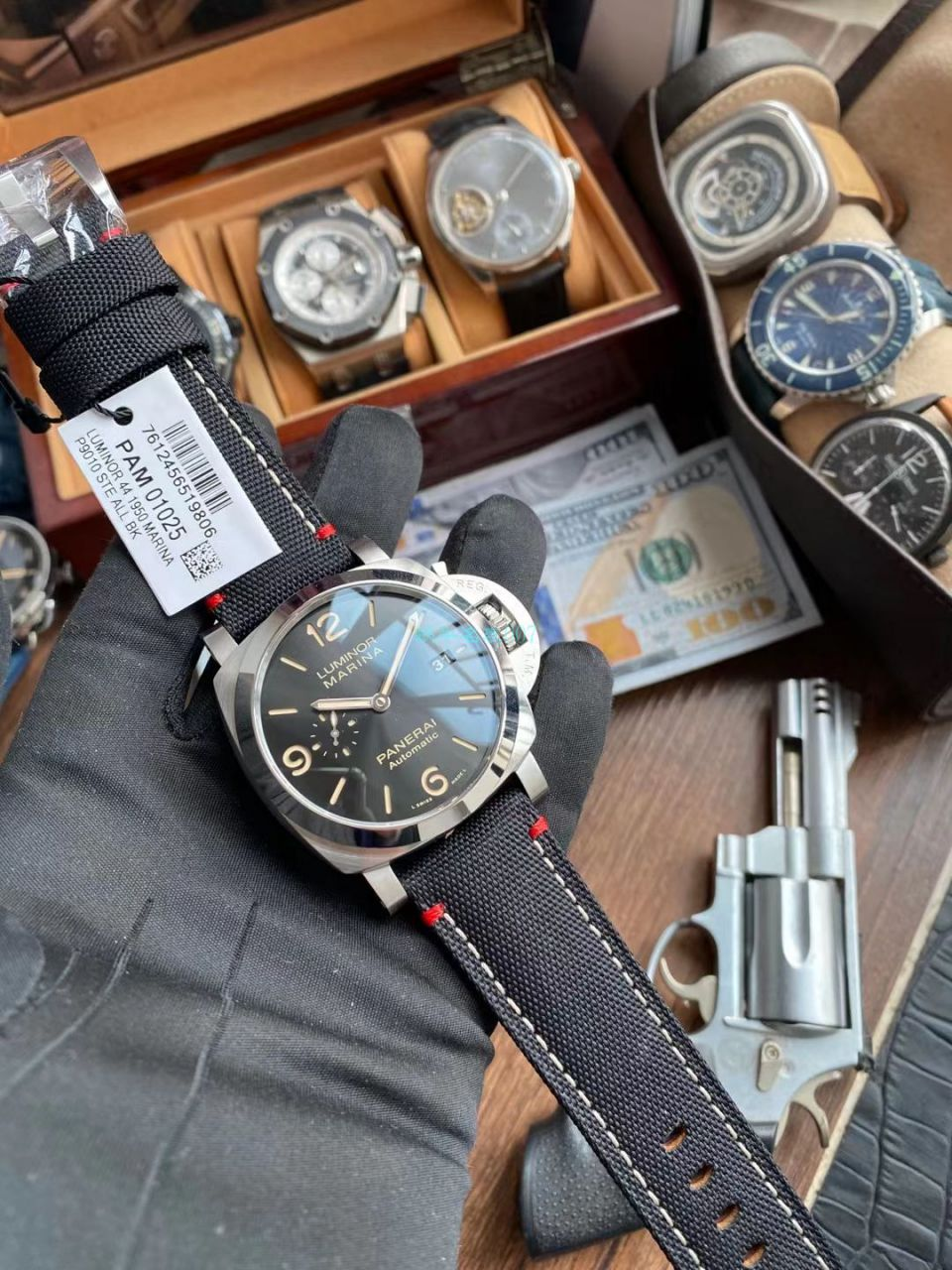 VS厂沛纳海Luminor Marina系列PAM01025顶级1比1复刻手表 / VSPAM01025