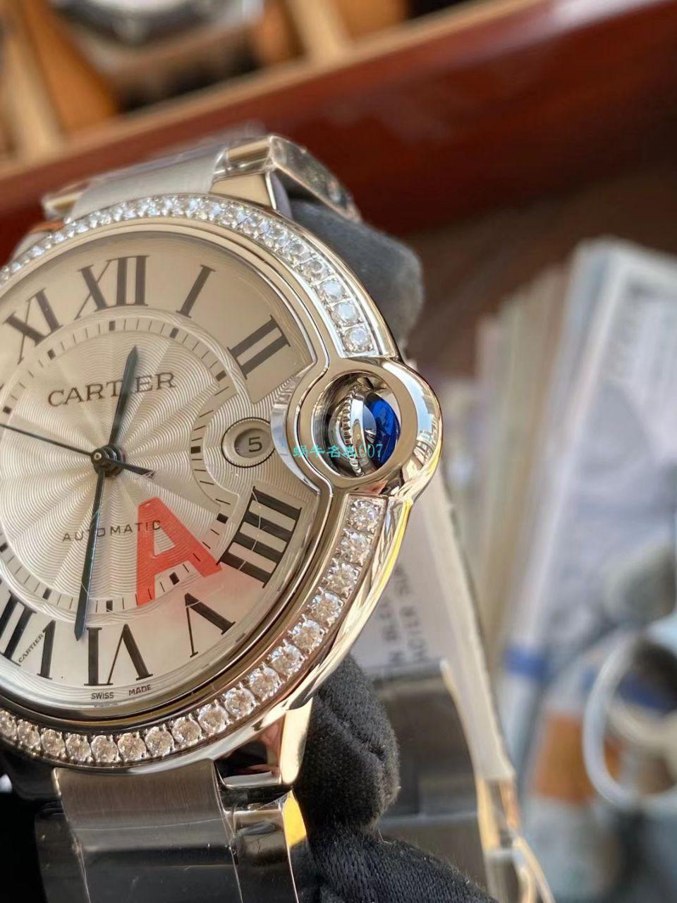 V6厂卡地亚蓝气球42MM最新V8版本单圈钻WE9009Z3手表 / K330