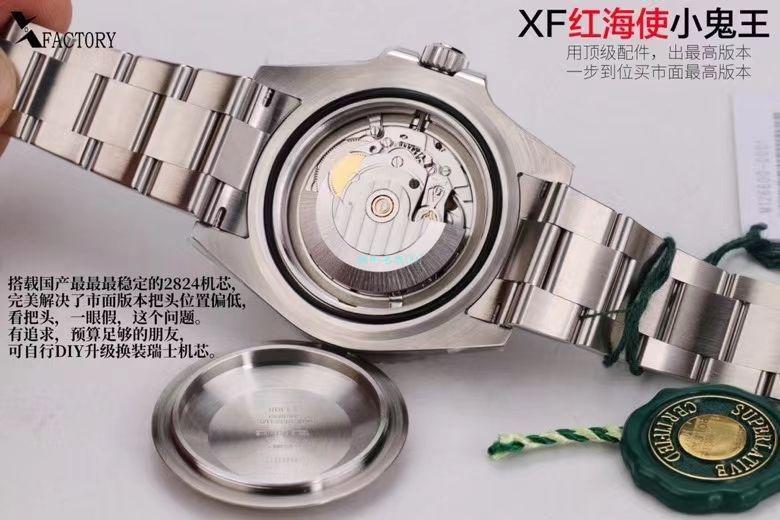 XF厂年终收官之作劳力士红海使小鬼王m126600-0001超A高仿手表 / R718