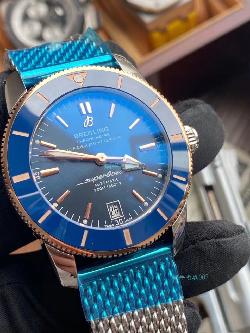 TW厂百年灵超级海洋文化超A高仿手表AB2010161C1A1,AB2010121B1S1腕表 / BL207