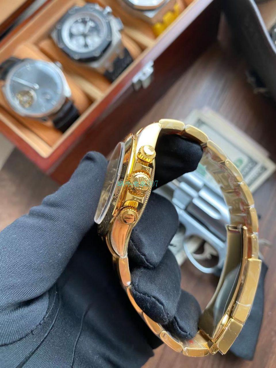 【视频评测】N厂劳力士超级4130迪通拿钻钉m116508-0006、m116503-0008腕表 / R728