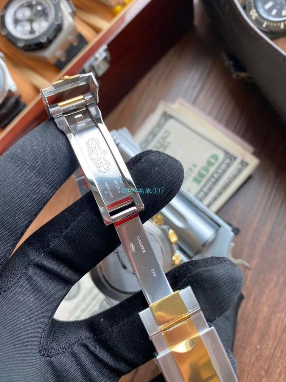 视频评测N厂劳力士超级4130迪通拿间金钻面m116503-0006顶级1比1复刻手表 / R732