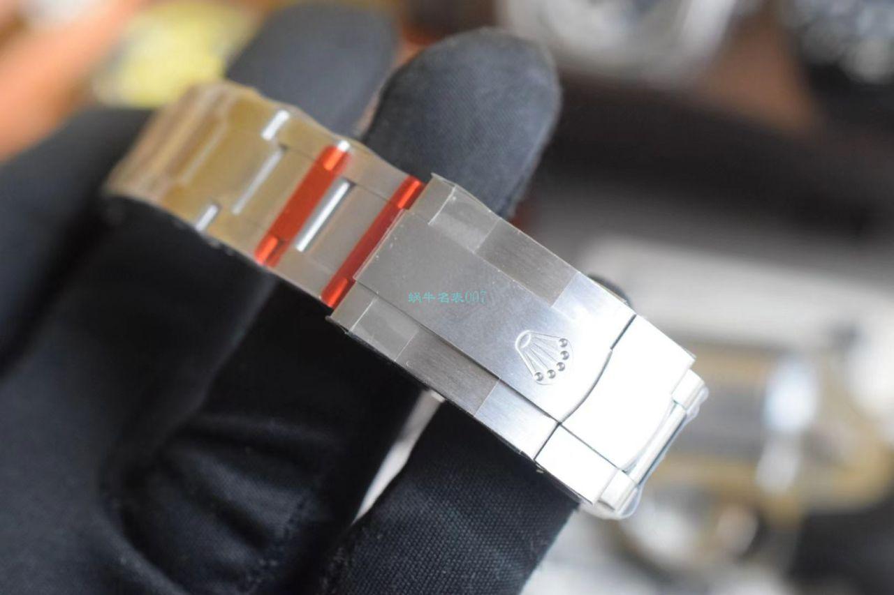 【视频评测】EW厂劳力士蚝式恒动41蒂芙尼蓝m124300-0006超A高仿手表 / R722