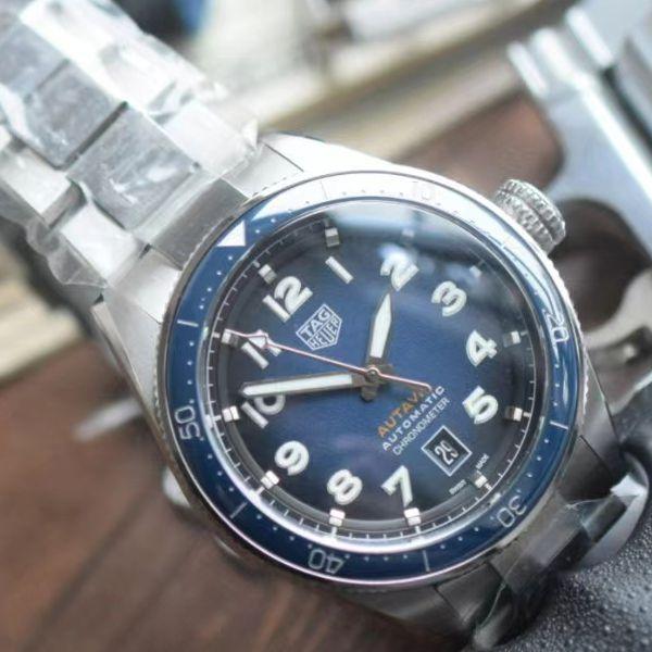 KOR厂泰格豪雅1比1精仿手表 AUTAVIA系列WBE5116.EB0173腕表