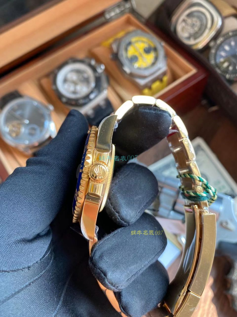 VS厂劳力士潜航者全金黑水鬼超A高仿手表116618LN-97208手表 / R738