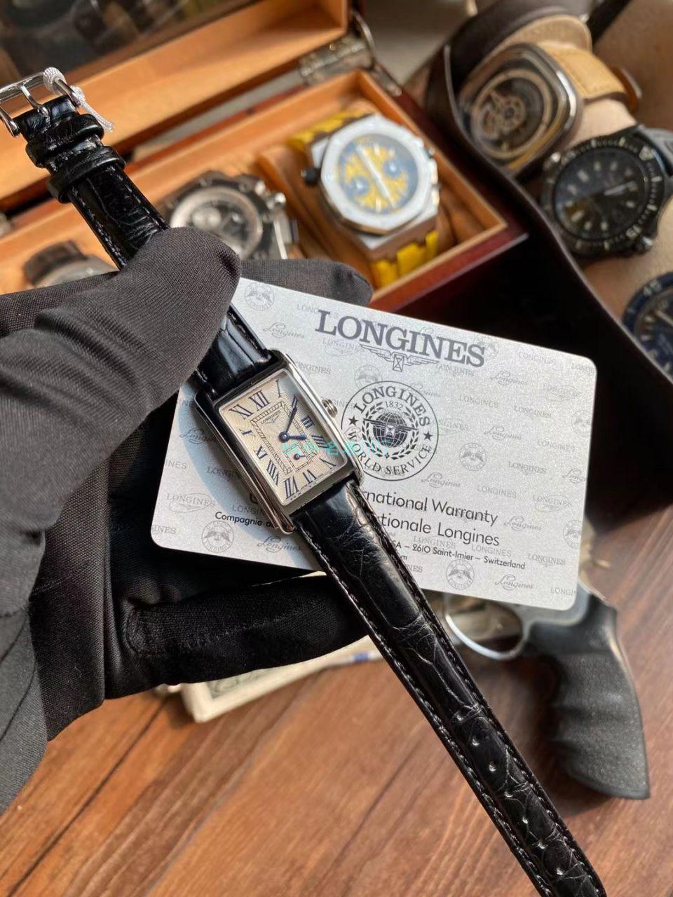原单林志玲同款浪琴优雅黛绰维纳女表L5.512.4.71.5腕表 / L176