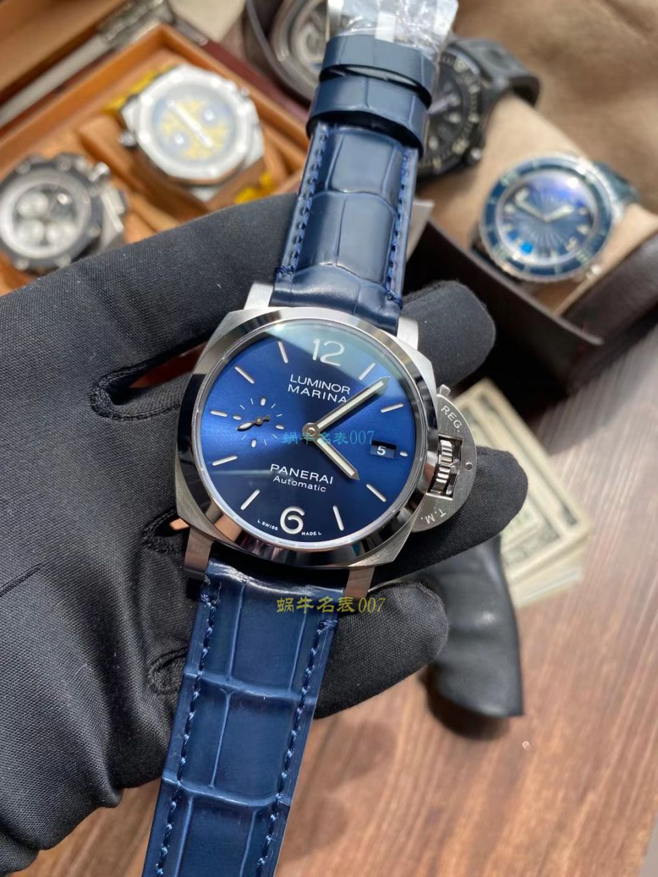 VS厂沛纳海LUMINOR顶级1比1复刻手表PAM01393腕表 / VSPAM01393
