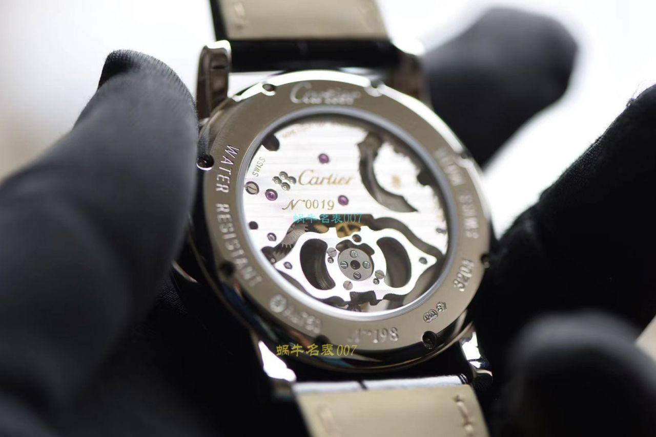 BBR厂卡地亚高级制表陀飞轮1比1高仿手表HPI00592,HPI00593腕表 / K332