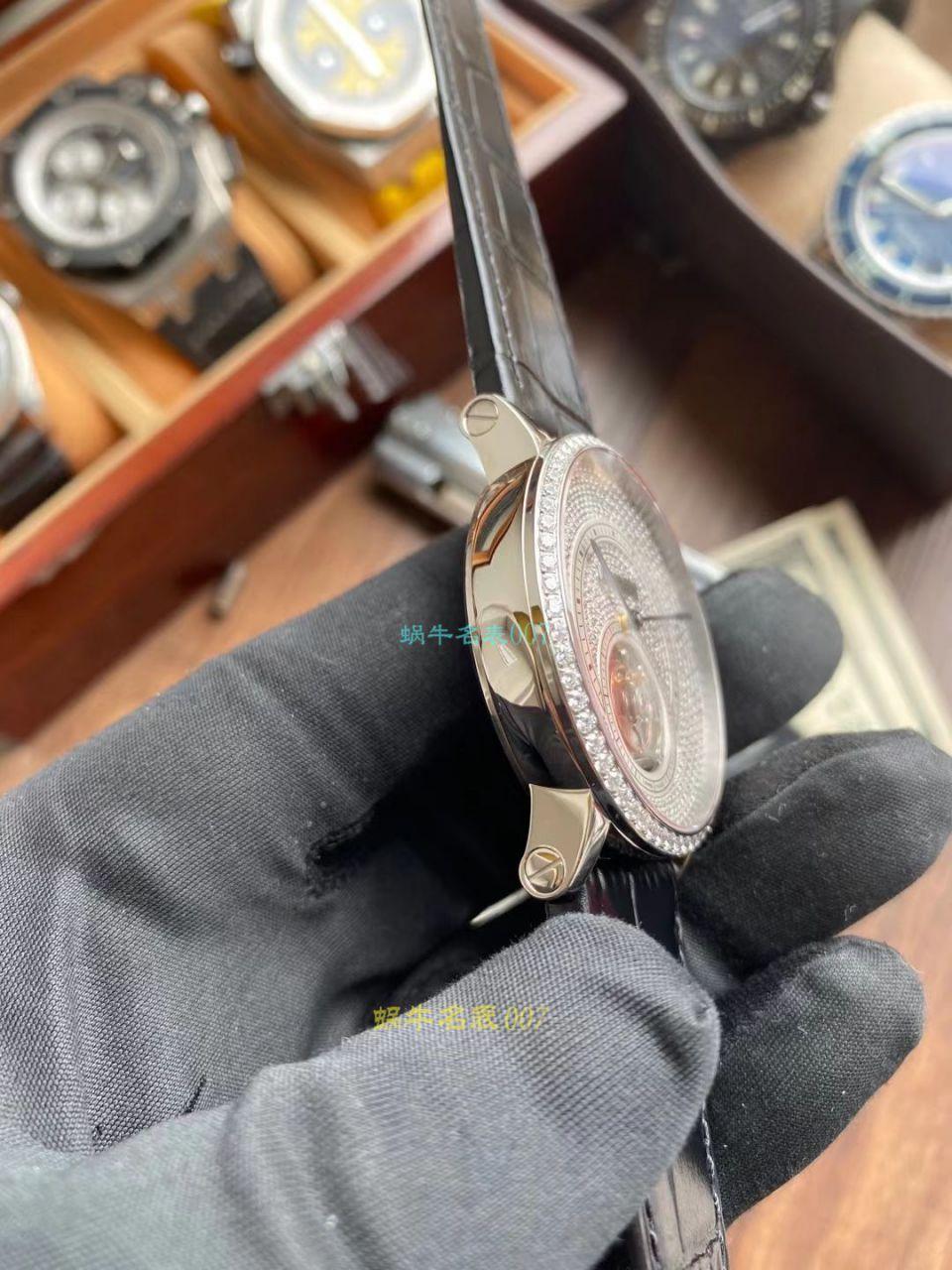 BBR厂卡地亚高级制表陀飞轮1比1精仿手表HPI00593腕表 / K336