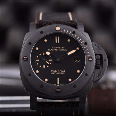 【视频评测】KW厂顶级复刻1:1高仿手表之顶级沛纳海全陶瓷精品PAM00508价格报价