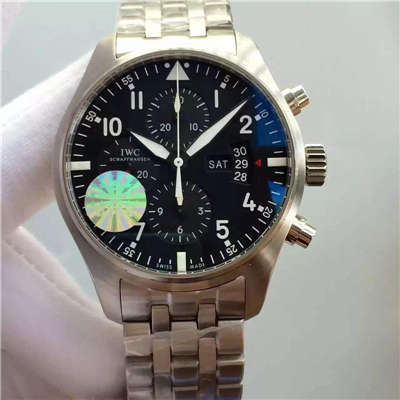 【V6厂顶级1:1超A高精仿手表】万国飞行员系列 IW377704 自动机械男士手表价格报价