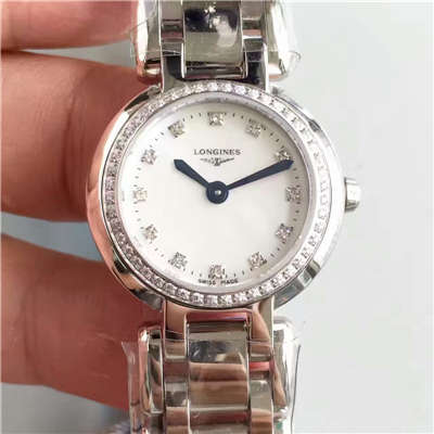 【KZ台湾厂顶级复刻手表】浪琴优雅PRIMALUNA心月系列L8.109.0.87.6腕表