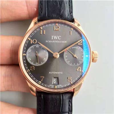 【ZF厂销量神器】万国葡萄牙系列《万国七日链》IW500702腕表