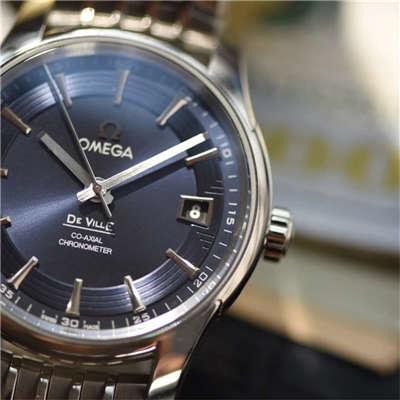 【独家视频评测HBBV6厂复刻手表】欧米茄碟飞系列《明亮之蓝》431.33.41.21.03.001腕表