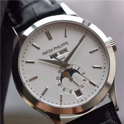 【台湾厂一比一复刻手表】百达翡丽复杂功能计时系列5396G-011男表