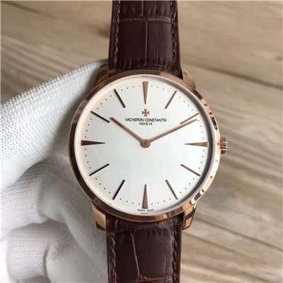 【台湾厂一比一超A精仿手表】江诗丹顿传承系列81180/000R-9159腕表价格报价