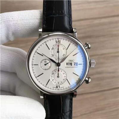【MK厂一比一超A高仿手表】万国IWC 柏涛菲诺计时腕表系列 IW391001腕表