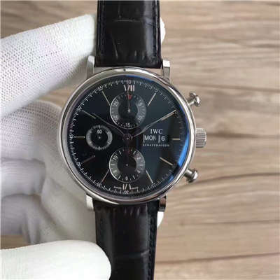 【MK厂一比一超A高仿手表】万国CHRONOGRAPH柏涛菲诺计时腕表系列 IW391008 腕表
