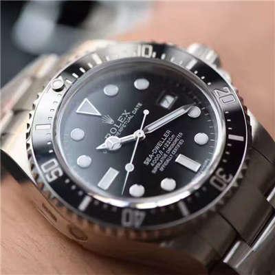 【N厂一比一超A高仿手表】最高版本劳力士恒动海使型小鬼王116660-98210 腕表