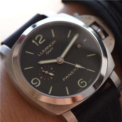 【VS厂一比一超A高仿手表】沛纳海LUMINOR 1950  3 Days 系列GMT 双时区 PAM 00320腕表价格报价