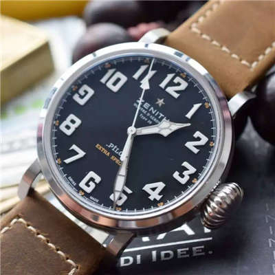 【独家视频测评KW厂顶级复刻手表】真力时大飞行员系列03.2430.3000/21.C738腕表