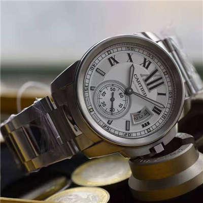 【JF厂一比一超A高仿手表】卡地亚CALIBRE DE CARTIER 系列W7100015腕表
