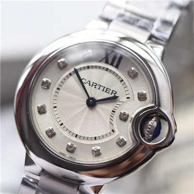 【V6厂超A1:1顶级复刻手表】卡地亚蓝气球系列女士小号蓝气球33毫米石英手表