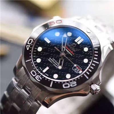【独家视频测评一比一超A高仿手表】欧米茄海马300M系列占士邦007特别版212.30.36.20.51.001腕表价格报价