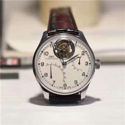 【独家视频测评YL厂一比一超A高仿手表】万国葡萄牙陀飞轮逆跳腕表系列IW504601腕表价格报价