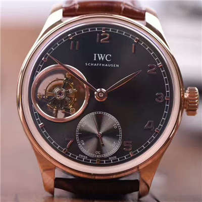 【YL厂一比一高仿手表】最高品质万国葡萄牙系列IW546301、IW546304九字位真陀飞轮腕表价格报价