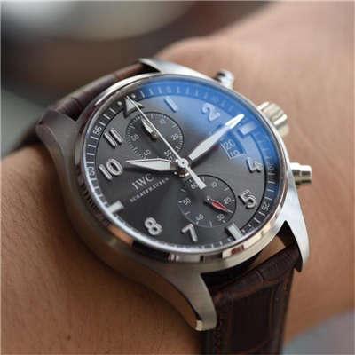 【独家视频测评一比一超A高仿手表】万国飞行员喷火战机计时腕表系列IW387808腕表