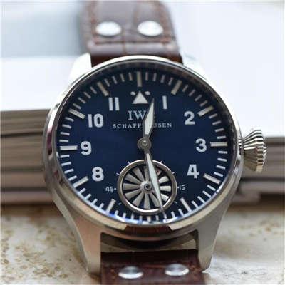 【独家视频测评】【KW厂1:1高仿手表】万国飞行员IW500301涡轮大飞男士机械手表