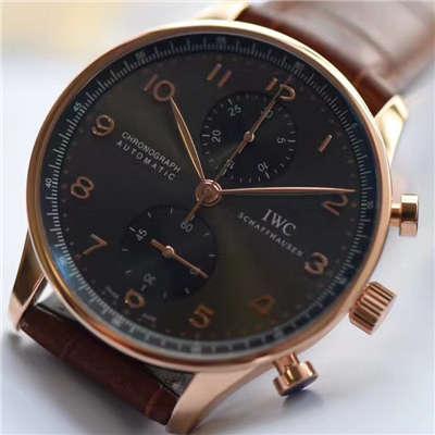 【独家视频测评YL厂V7版本葡计一比一超A高仿手表】万国葡萄牙系列IW371482腕表价格报价